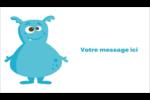 Monstres mignons Carte d'affaire - gabarit prédéfini. <br/>Utilisez notre logiciel Avery Design & Print Online pour personnaliser facilement la conception.