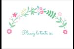 Craie florale Étiquettes à codage couleur - gabarit prédéfini. <br/>Utilisez notre logiciel Avery Design & Print Online pour personnaliser facilement la conception.