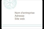 Fleur créative Étiquettes D'Identification - gabarit prédéfini. <br/>Utilisez notre logiciel Avery Design & Print Online pour personnaliser facilement la conception.