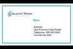 Flamme créative Cartes Pour Le Bureau - gabarit prédéfini. <br/>Utilisez notre logiciel Avery Design & Print Online pour personnaliser facilement la conception.