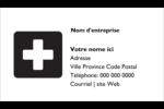 Croix médicale Carte d'affaire - gabarit prédéfini. <br/>Utilisez notre logiciel Avery Design & Print Online pour personnaliser facilement la conception.