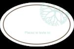 Fleur créative Étiquettes carrées - gabarit prédéfini. <br/>Utilisez notre logiciel Avery Design & Print Online pour personnaliser facilement la conception.