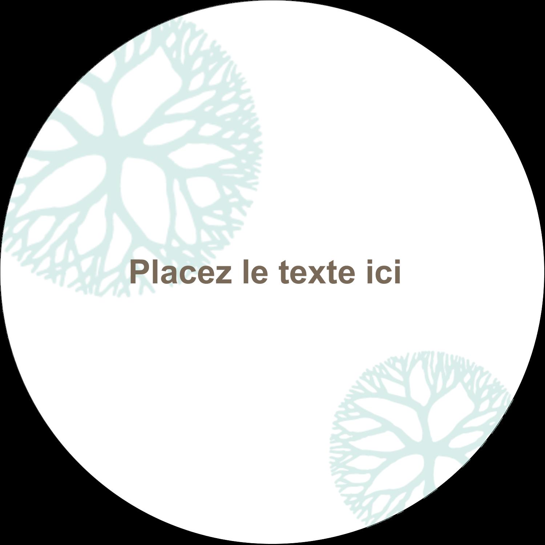 """3-7/16"""" x 15/16"""" Étiquettes de classement - Fleur créative"""