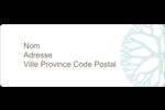 Fleur créative Étiquettes D'Adresse - gabarit prédéfini. <br/>Utilisez notre logiciel Avery Design & Print Online pour personnaliser facilement la conception.