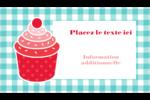 Ensemble pour petits gâteaux Carte d'affaire - gabarit prédéfini. <br/>Utilisez notre logiciel Avery Design & Print Online pour personnaliser facilement la conception.