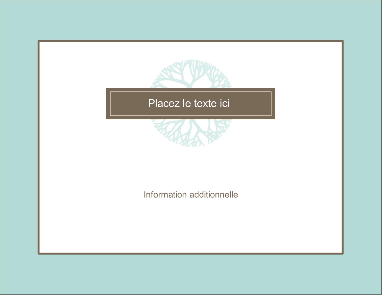 "4¼"" X 5½"" Carte Postale - Fleur créative"
