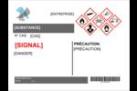 Assistant SGH Étiquette Industrielles - gabarit prédéfini. <br/>Utilisez notre logiciel Avery Design & Print Online pour personnaliser facilement la conception.