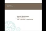 Fleur créative Étiquettes d'expédition - gabarit prédéfini. <br/>Utilisez notre logiciel Avery Design & Print Online pour personnaliser facilement la conception.