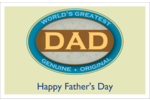 Being a Dad is a SERIOUS business! Brand Father's Day projects with BEST DAD logo!