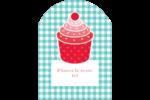 Ensemble pour petits gâteaux Étiquettes arrondies - gabarit prédéfini. <br/>Utilisez notre logiciel Avery Design & Print Online pour personnaliser facilement la conception.