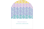 Beauté géométrique Étiquettes rectangulaires - gabarit prédéfini. <br/>Utilisez notre logiciel Avery Design & Print Online pour personnaliser facilement la conception.