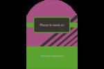 Bandes noires sur fond violet  Étiquettes rectangulaires - gabarit prédéfini. <br/>Utilisez notre logiciel Avery Design & Print Online pour personnaliser facilement la conception.