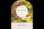 Prairie fleurie Étiquettes rectangulaires - gabarit prédéfini. <br/>Utilisez notre logiciel Avery Design & Print Online pour personnaliser facilement la conception.