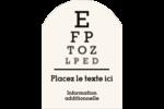 Tableau oculaire Étiquettes rectangulaires - gabarit prédéfini. <br/>Utilisez notre logiciel Avery Design & Print Online pour personnaliser facilement la conception.
