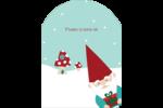 Lutin de Noël Étiquettes rectangulaires - gabarit prédéfini. <br/>Utilisez notre logiciel Avery Design & Print Online pour personnaliser facilement la conception.