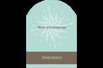 Éclat créatif Étiquettes rectangulaires - gabarit prédéfini. <br/>Utilisez notre logiciel Avery Design & Print Online pour personnaliser facilement la conception.