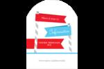Drapeaux des Fêtes Étiquettes rectangulaires - gabarit prédéfini. <br/>Utilisez notre logiciel Avery Design & Print Online pour personnaliser facilement la conception.