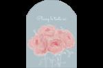 Petit bouquet Étiquettes rectangulaires - gabarit prédéfini. <br/>Utilisez notre logiciel Avery Design & Print Online pour personnaliser facilement la conception.