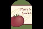 Tomate italienne Étiquettes rectangulaires - gabarit prédéfini. <br/>Utilisez notre logiciel Avery Design & Print Online pour personnaliser facilement la conception.