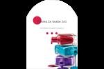 Flacons de vernis Étiquettes rectangulaires - gabarit prédéfini. <br/>Utilisez notre logiciel Avery Design & Print Online pour personnaliser facilement la conception.
