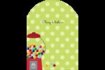 Boules de gomme Étiquettes rectangulaires - gabarit prédéfini. <br/>Utilisez notre logiciel Avery Design & Print Online pour personnaliser facilement la conception.