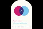 Styliste Étiquettes rectangulaires - gabarit prédéfini. <br/>Utilisez notre logiciel Avery Design & Print Online pour personnaliser facilement la conception.