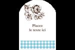 Brunch campagnard Étiquettes arrondies - gabarit prédéfini. <br/>Utilisez notre logiciel Avery Design & Print Online pour personnaliser facilement la conception.