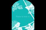 Signes du printemps Étiquettes rectangulaires - gabarit prédéfini. <br/>Utilisez notre logiciel Avery Design & Print Online pour personnaliser facilement la conception.