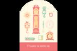 Horloges Étiquettes rectangulaires - gabarit prédéfini. <br/>Utilisez notre logiciel Avery Design & Print Online pour personnaliser facilement la conception.