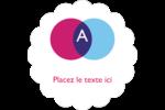 Styliste Étiquettes festonnées - gabarit prédéfini. <br/>Utilisez notre logiciel Avery Design & Print Online pour personnaliser facilement la conception.