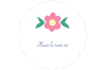 Princesses Étiquettes festonnées - gabarit prédéfini. <br/>Utilisez notre logiciel Avery Design & Print Online pour personnaliser facilement la conception.