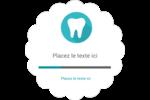 Dent Étiquettes festonnées - gabarit prédéfini. <br/>Utilisez notre logiciel Avery Design & Print Online pour personnaliser facilement la conception.
