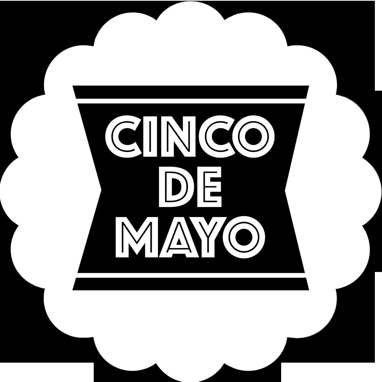"""½"""" x 1¾"""" Étiquettes D'Adresse - Serape de Cinco de Mayo"""