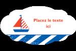 Nautique Étiquette Industrielles - gabarit prédéfini. <br/>Utilisez notre logiciel Avery Design & Print Online pour personnaliser facilement la conception.