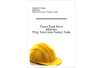 Hats off to your project with pre-designed Hard Hat templates.