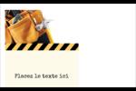 Ceinture porte-outils Étiquettes D'Identification - gabarit prédéfini. <br/>Utilisez notre logiciel Avery Design & Print Online pour personnaliser facilement la conception.