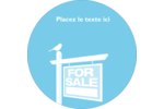 Oiseau à vendre Étiquettes rondes - gabarit prédéfini. <br/>Utilisez notre logiciel Avery Design & Print Online pour personnaliser facilement la conception.