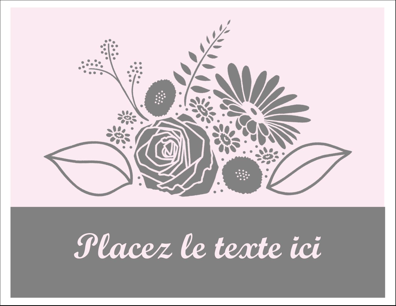 """8½"""" x 11"""" Cartes Et Articles D'Artisanat Imprimables - Bouquet de fleurs"""