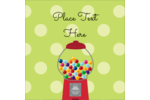 Add a nostalgic feel to projects with customizable pre-designed Gumballs templates.