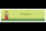 Boules de gomme Affichette - gabarit prédéfini. <br/>Utilisez notre logiciel Avery Design & Print Online pour personnaliser facilement la conception.