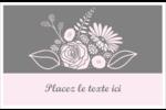 Bouquet de fleurs Cartes Et Articles D'Artisanat Imprimables - gabarit prédéfini. <br/>Utilisez notre logiciel Avery Design & Print Online pour personnaliser facilement la conception.