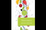 Fruits frais Carte Postale - gabarit prédéfini. <br/>Utilisez notre logiciel Avery Design & Print Online pour personnaliser facilement la conception.