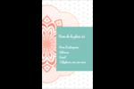 Napperon géométrique Carte d'affaire - gabarit prédéfini. <br/>Utilisez notre logiciel Avery Design & Print Online pour personnaliser facilement la conception.