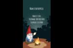 Gnome en camping Carte d'affaire - gabarit prédéfini. <br/>Utilisez notre logiciel Avery Design & Print Online pour personnaliser facilement la conception.