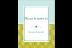 Motif de lignes fines Carte Postale - gabarit prédéfini. <br/>Utilisez notre logiciel Avery Design & Print Online pour personnaliser facilement la conception.