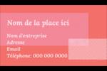 Traitement rose Carte d'affaire - gabarit prédéfini. <br/>Utilisez notre logiciel Avery Design & Print Online pour personnaliser facilement la conception.