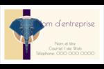 Éléphant géométrique Carte d'affaire - gabarit prédéfini. <br/>Utilisez notre logiciel Avery Design & Print Online pour personnaliser facilement la conception.