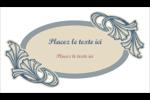 Bouquet français Carte d'affaire - gabarit prédéfini. <br/>Utilisez notre logiciel Avery Design & Print Online pour personnaliser facilement la conception.