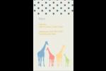 Girafe en fête Carte d'affaire - gabarit prédéfini. <br/>Utilisez notre logiciel Avery Design & Print Online pour personnaliser facilement la conception.