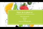 Fruits frais Carte d'affaire - gabarit prédéfini. <br/>Utilisez notre logiciel Avery Design & Print Online pour personnaliser facilement la conception.